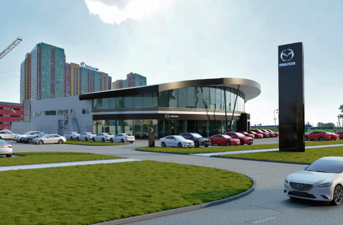Автоцентр дилера Mazda на Пулковском
